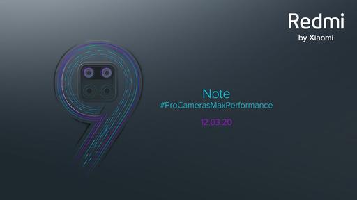 Xiaomi Redmi Note 9 ganha data de lançamento e novo conjunto de câmeras