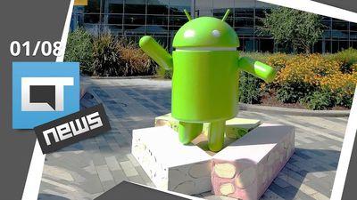 Android Nougat chegando, Chefe do Pokémon GO hackeado, Tesla mais forte e + [CTN