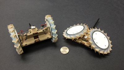 Robô-origami da NASA vai ajudar robôs convencionais a explorar o solo em Marte
