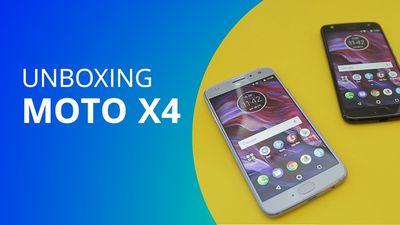Motorola Moto X4 [Unboxing]
