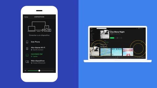 Como usar o Spotify Connect para ouvir músicas em diversos aparelhos