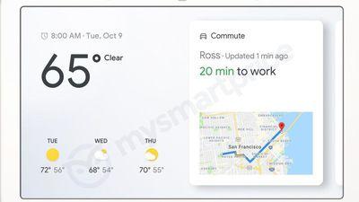 Smart Display da Google pode chegar ao mercado britânico no final do mês