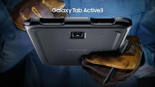 Galaxy Tab Active 3 é o tablet da Samsung para trabalho em qualquer lugar