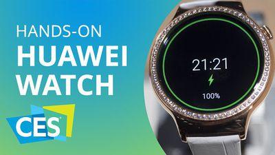Huawei Watch vira jóia com cristais Swarovski [Especial | Hands-on | CES 2016]
