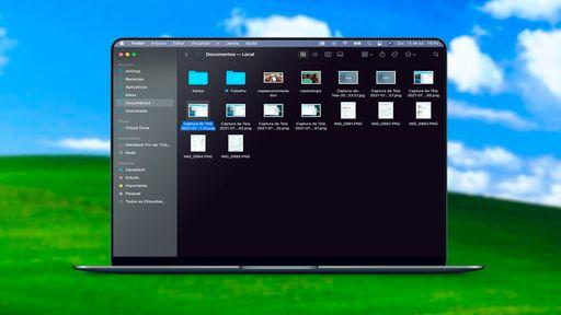 Como organizar pastas do Finder no Mac como no Windows