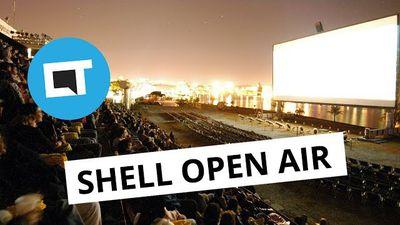 Maior cinema ao ar livre do mundo chega ao Rio de Janeiro [SHELL OPEN AIR]