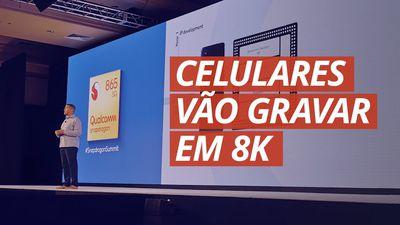 Snapdragon 865: gravações em 8K com zoom contínuo!