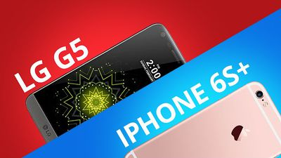 LG G5 vs iPhone 6s Plus [Comparativo]