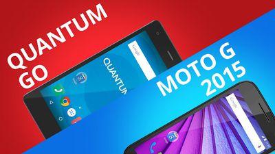 Quantum Go VS Moto G 2015, qual o melhor? [Comparativo]