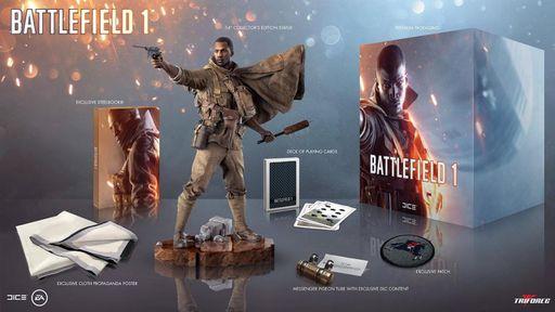Edição de Colecionador do jogo Battlefield 1 incrivelmente não vem com o jogo