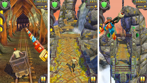 5 jogos estilo Temple Run (corrida com obstáculos) para celular