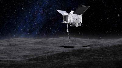 Sonda que visita asteroide Bennu tira foto da Terra a 110 milhões de quilômetros
