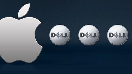 Comparativo no mercado de ações: Apple hoje vale 30 vezes o equivalente à Dell