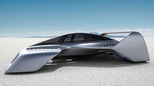 Este carro voador futurista pode chegar a 400 km/h; lançamento é ano que vem