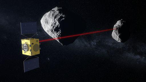 Nave da missão europeia Hera contará com navegação autônoma no espaço