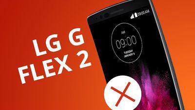 LG G FLEX 2: 5 motivos para NÃO COMPRAR [5 Motivos]