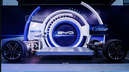 Nova plataforma da BYD promete autonomia de 1.000 km para carro-conceito