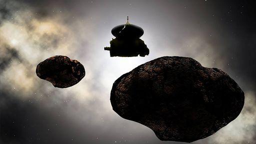 O universo é realmente escuro? Sonda que viaja além de Plutão ajuda a responder