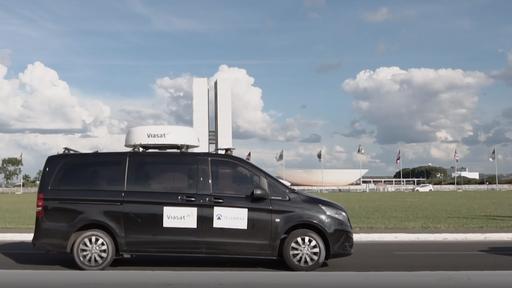 Telebrás e Viasat criam antena para que carros acessem internet via satélite