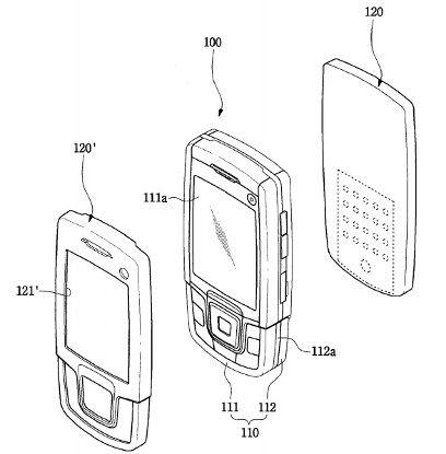 Patente Samsung celular-perfume