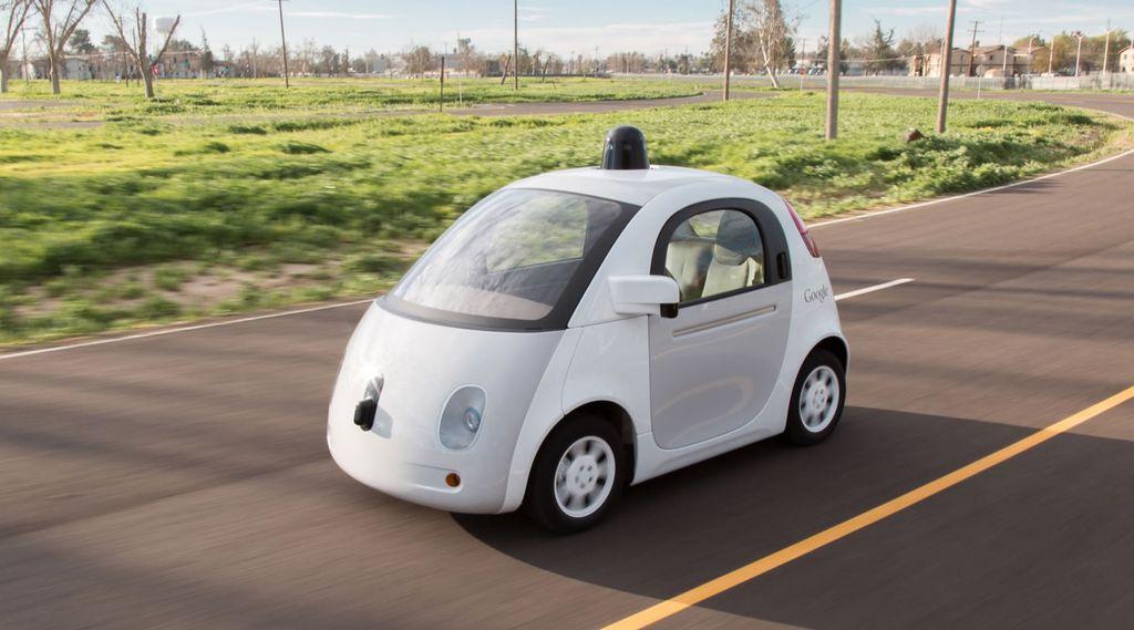 carro autônomo Google