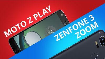 Zenfone 3 Zoom vs Moto Z Play [Comparativo]