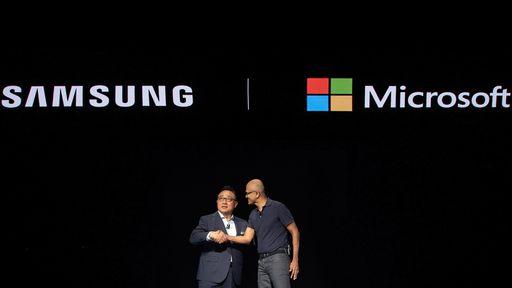 Samsung e Microsoft: uma parceria necessária