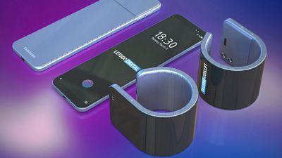 Patente indica que Samsung pode estar desenvolvendo um smartphone de pulso