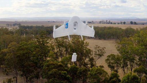 Google recebe autorização para testar drones de entregas nos EUA