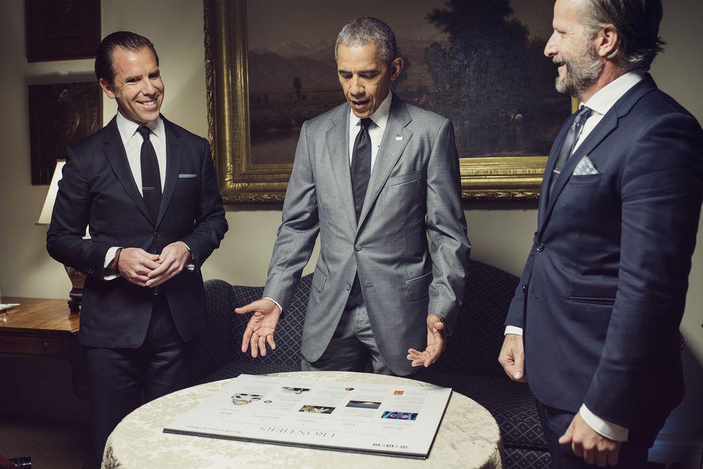 Barack Obama, Wired