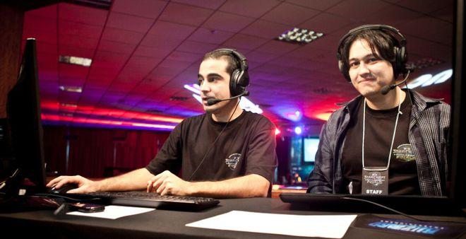 Narradores Campeonato Starcraft II