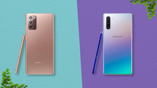 Galaxy Note 20 vs. Galaxy Note 10: o que muda de uma geração para outra?
