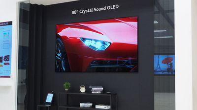CES 2019   Nova TV da LG tem resolução 8K, 88 polegadas e som Dolby Atmos