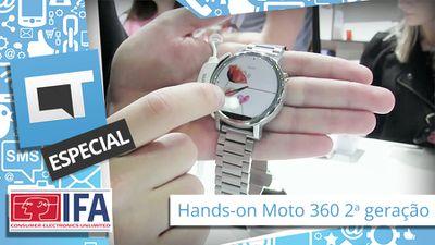 Moto 360 2015 (2a. geração) - Hands-on [IFA 2015]