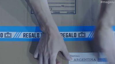 """Em brincadeira, Magazine Luiza """"envia"""" TVs do 7x1 para zicar Argentina"""