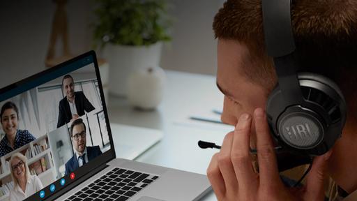 JBL Free WFH é novo fone da marca com microfone removível e foco no home office