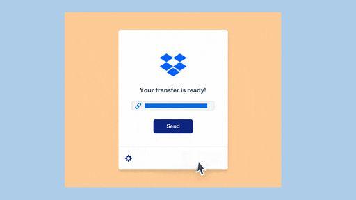 Novo Dropbox Transfer permite o compartilhamento de arquivos de até 100 GB