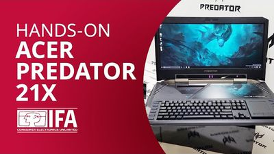 Acer Predator 21X: o super laptop gamer de 8 kg e 2 placas de vídeo! [Hands-on IFA 2016]
