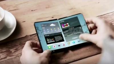 Smartphone com tela dobrável da Samsung deve ser lançado no começo de 2019