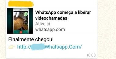 Golpe Whatsapp