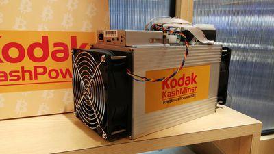 Kodak cancela seu bizarro projeto de minerador de bitcoins