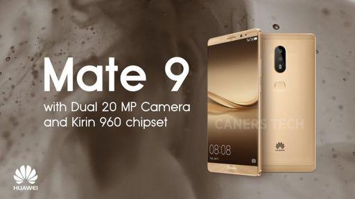 Huawei Mate 9 pode vir em 9 cores e trazer câmera dupla da Leica