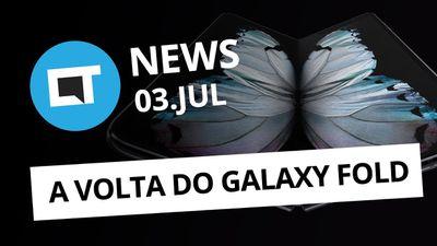 Galaxy Fold REFORMULADO; Previsão da SpaceX para 2021 e + [CT News]