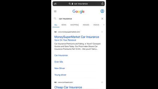 Exagero? Google testa anúncios com fontes 50% maiores em resultados de busca