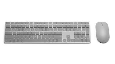 Microsoft lança teclado com leitor de impressões digitais e novo mouse