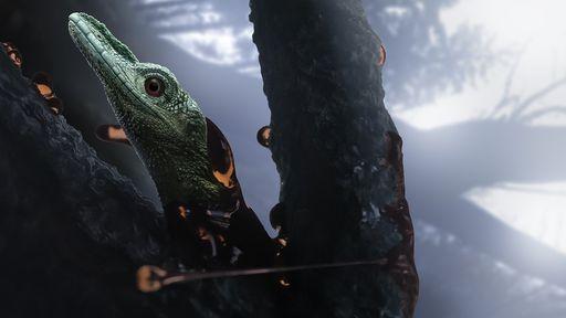 Suposto dinossauro minúsculo é, na verdade, um lagarto estranho, diz estudo