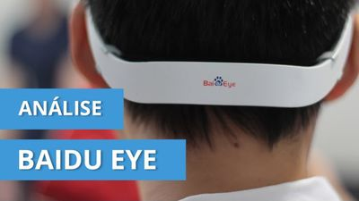 Baidu Eye: primeiro hands-on mundial dos óculos [vídeo exclusivo]