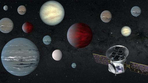 Telescópio espacial TESS descobre um dos maiores subnetunos conhecidos até hoje