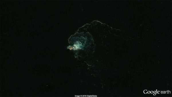 Internauta afirma ter visto monstro marinho pelo Google Earth