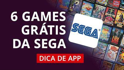 6 jogos clássicos e gratuitos da Sega #DicaDeApp